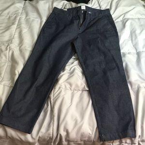 Gap cropped jeans - size 10